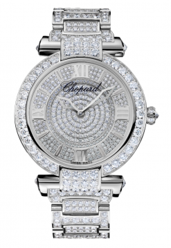 Chopard Imperiale 18K White Gold & Diamonds Ladies Watch 384239-1002