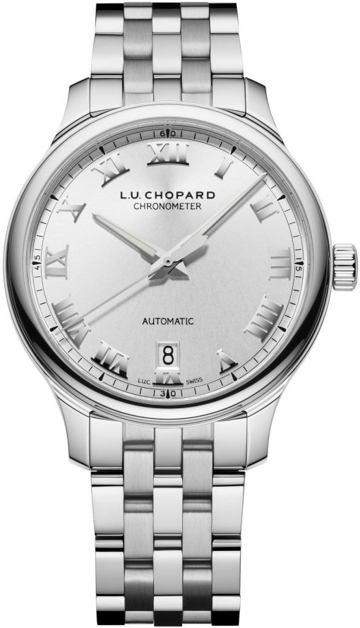 Chopard L.U.C 1937 Classic Stainless Steel Men's Watch, 158558-3001