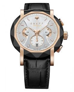 Graff ChronoGraff Rose Gold & DLC Men's Watch chronograff-45mm-dlcrg-wd