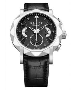Graff ChronoGraff White Gold Men's Watch chronograff-45mm-wg-bd