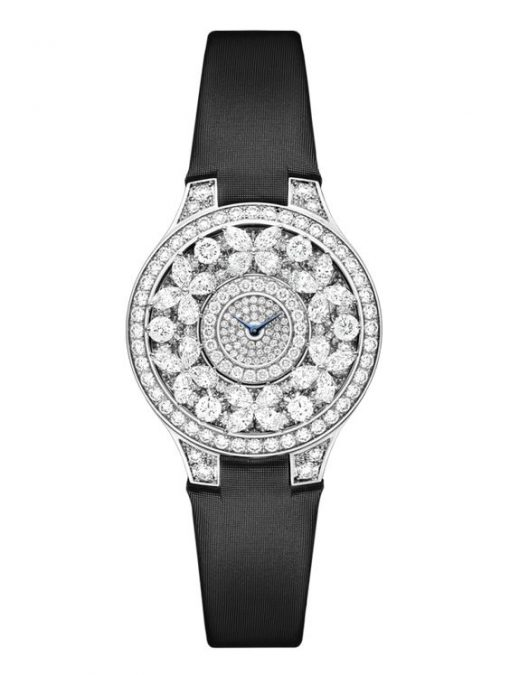 Graff Classic Butterfly White Gold Diamonds Ladies Watch, butterfly-cl-wg-dd