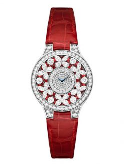 Graff Classic Butterfly White Gold, Rubies & Diamonds Ladies Watch butterfly-cl-wg-rdd