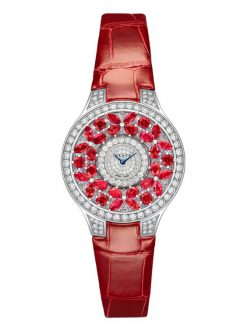 Graff Classic Butterfly White Gold, Rubies & Diamonds Ladies Watch butterfly-cl-wg-rd