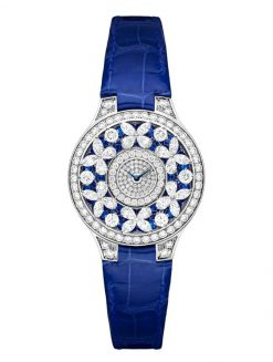 Graff Classic Butterfly White Gold, Sapphires & Diamonds Ladies Watch butterfly-cl-wg-sdd