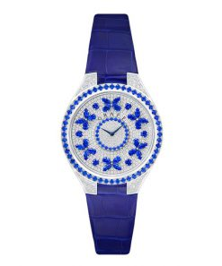 Graff Disco Butterfly White Gold, Sapphires & Diamonds Ladies Watch butterfly-dis-wg-sd