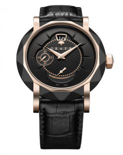 Graff GraffStar Grand Date 18K Rose Gold & DLC Men's Watch star-grand-rgdlc-bd-bc