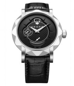 Graff GraffStar Grand Date 18K White Gold Men's Watch star-grand-wg-bd-bc