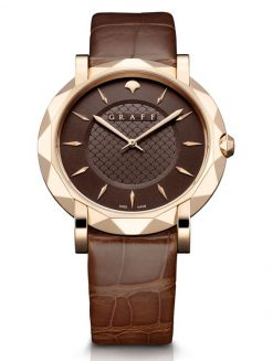 Graff GraffStar Slim 18K Rose Gold Men's Watch star-rg-ch-bc