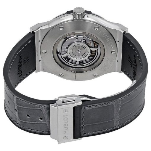 Hublot Classic Fusion 45mm Titanium Racing Grey Automatic Watch, 511.NX.7071.LR 2