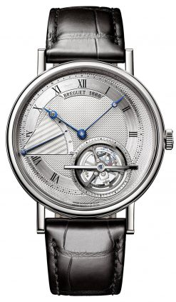 Brequet Classique Tourbillon Extra-Plat 5377 Platinum Men's Watch 5377PT/12/9WU
