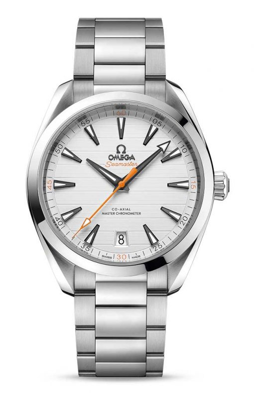 Omega Seamaster Aqua Terra 150M Co-Axial Master Chronometer White Dial 41mm Men's Watch, 220.10.41.21.02.001
