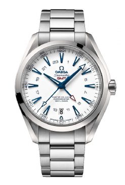 Omega Seamaster Aqua Terra 150M Master Co-Axial GMT 43mm Men's Watch GoodPlanet Edition 231.90.43.22.04.001
