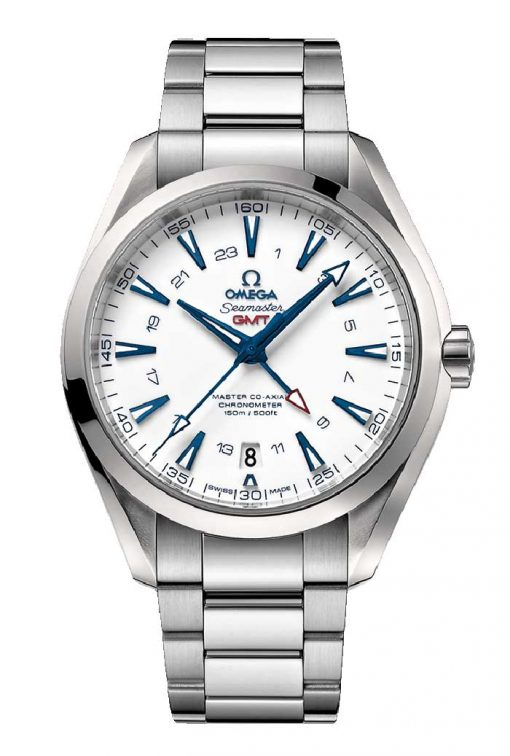 Omega Seamaster Aqua Terra 150M Master Co-Axial GMT 43mm Men's Watch GoodPlanet Edition, 231.90.43.22.04.001