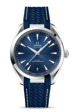 Omega Seamaster Aqua Terra 150M Co-Axial Master Chronometer Blue Dial 41mm Men's Watch 220.12.41.21.03.001