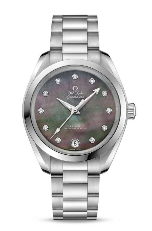 Omega Seamaster Aqua Terra 150M Co-Axial Master Chronometer 34mm Watch, 220.10.34.20.57.001 2