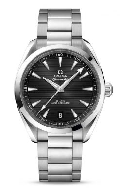 Omega Seamaster Aqua Terra 150M Co-Axial Master Chronometer Black Dial 41mm Men's Watch 220.10.41.21.01.001