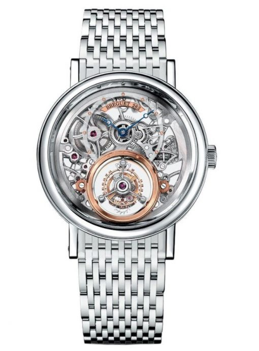 Brequet Tourbillon Messidor 5335 Platinum Men's Watch, 5335PT/42/PW0