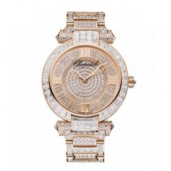 Chopard Imperiale 18K Rose Gold & Diamonds Ladies Watch 384239-5004