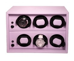 Scatola Del Tempo Watch Winder Cornice 6RT Lilac cornice-6rt-os-lilac