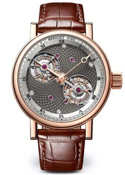 Brequet Double Tourbillon 5347 18K Rose Gold Men's Watch 5347BR/2A/9ZU
