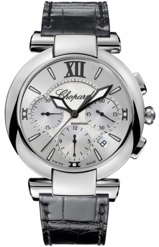 Chopard Imperiale Chrono Stainless Steel & Amethyst Ladies Watch, 388549-3001