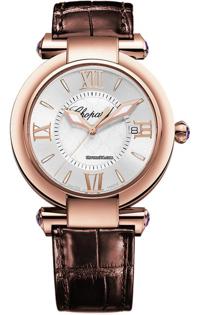 Chopard Imperiale 18K Rose Gold Ladies Watch, preowned.384221-5001
