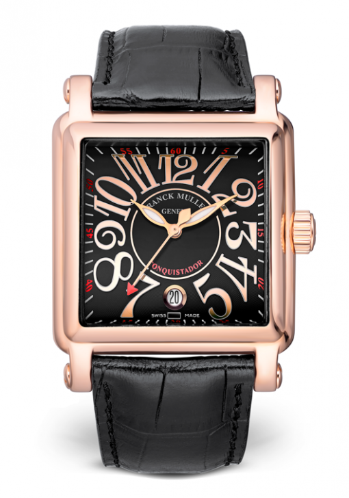 Franck Muller Conquistador Cortez 18K Rose Gold Men's Watch, Preowned-10000 SC