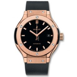 Hublot Classic Fusion 33mm King Gold Automatic Watch 582.OX.1180.RX