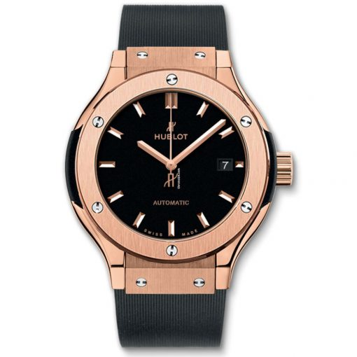 Hublot Classic Fusion 33mm King Gold Automatic Watch, 582.OX.1180.RX