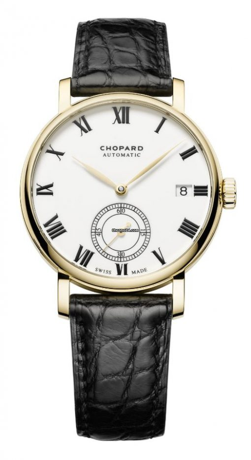 Chopard Classic 18K Yellow Gold Men's Watch, 161289-0001