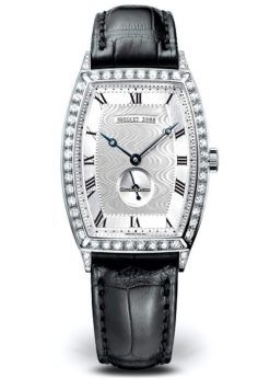 Brequet Héritage 3661 18K White Gold & Diamonds Ladies Watch 3661BB/12/984/DD00