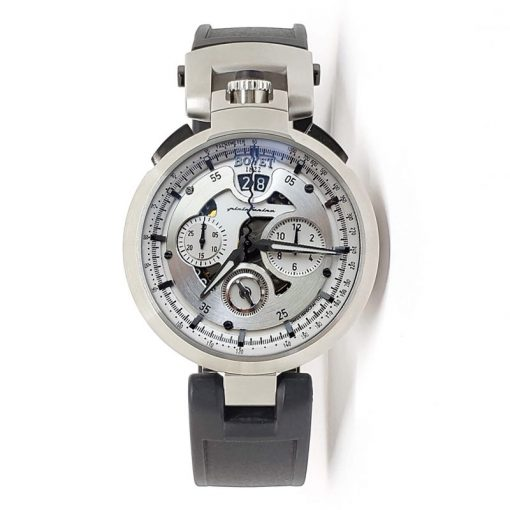 Bovet Pininfarina Amadeo Chronograph Stainless Steel Men's Watch, preowned.CHPIN005