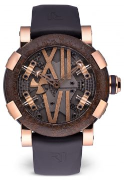 Romain Jerome Titanic-DNA Steampunk Limited Edition 18K Rose Gold and Titanic Steel Men's… Preowned-RJ.T.AU.SP.003.01
