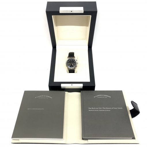 A. Lange And Sohne 1815 Chronograph White Gold Men's Watch, 414.028 6