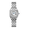 Cartier Panthère Stainless Steel & Diamonds Small Model Ladies Watch, W4PN0007 1