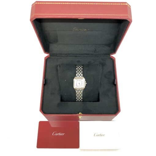Cartier Panthère Stainless Steel & Diamonds Small Model Ladies Watch, W4PN0007 5