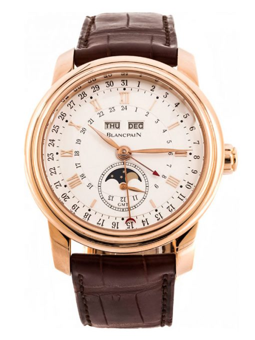 Blancpain Le Brassus 18K Rose Gold Men's Watch, preowned.4276-3642-55B