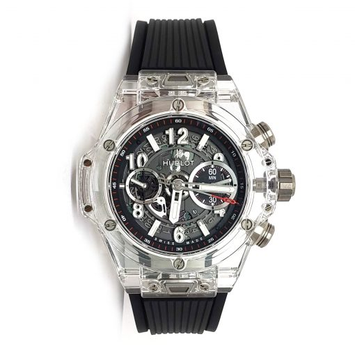Hublot Big Bang Unico Magic Sapphire Men's Watch, 411.JX.1170.RX