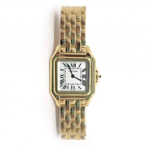 Cartier Panthère 18K Yellow Gold Ladies Watch, WGPN0009