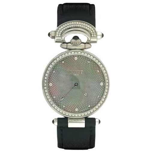 Bovet Amadeo Fleurier 36 Miss Audrey Black Mother-of-pearl Watch, AS36003-SD12