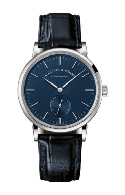 A. Lange and Sohne SAXONIA White Gold Men`s Watch 219.028