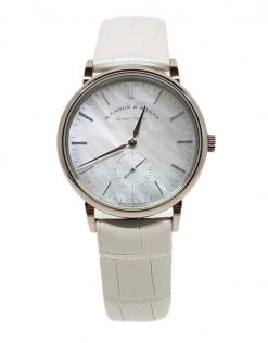A. Lange and Sohne Saxonia White Gold Ladies' Watch 219.047