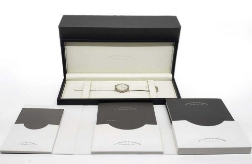 A. Lange and Sohne Saxonia White Gold Ladies' Watch, 219.047 4