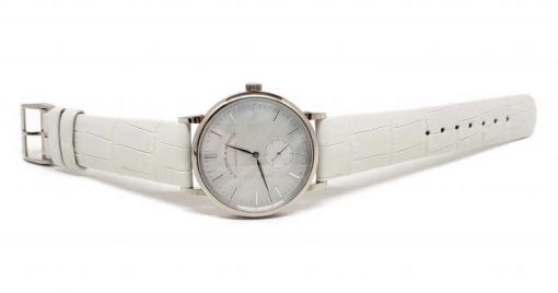 A. Lange and Sohne Saxonia White Gold Ladies' Watch, 219.047 5