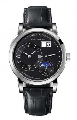 A. Lange and Sohne Lange 1 Moon Phase White Gold Men`s Watch 192.029