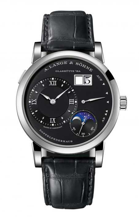 A. Lange and Sohne Lange 1 Moon Phase White Gold Men`s Watch, 192.029