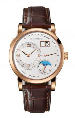 A. Lange and Sohne Lange 1 Moon Phase Rose Gold Men`s Watch 192.032