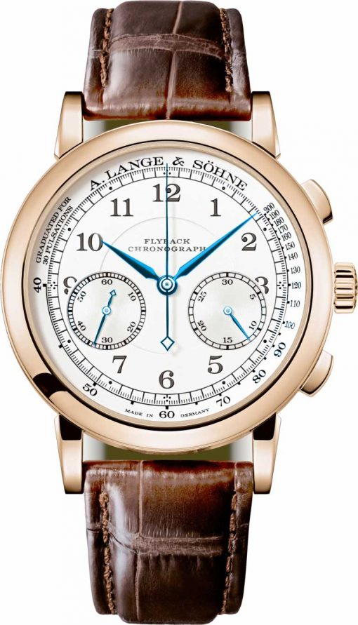 A. Lange And Sohne 1815 Chronograph Rose Gold Men's Watch, 414.032