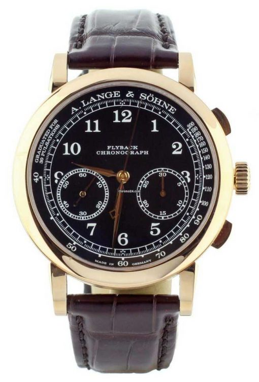 A. Lange And Sohne 1815 Chronograph Rose Gold Men's Watch, 414.031