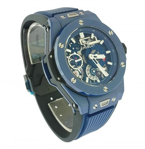 Hublot Big Bang Meca-10 Ceramic Blue Men's Watch, 414.EX.5123.RX 5
